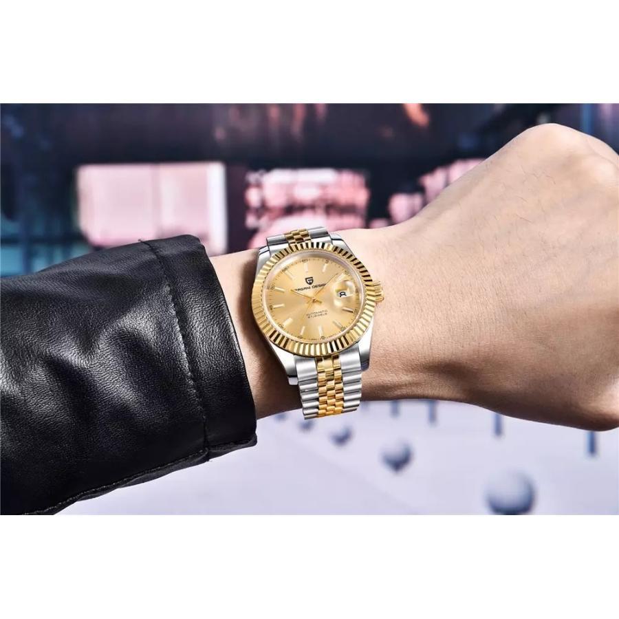 パガーニデザイン PAGANI DESIGN メンズ腕時計 機械式 自動巻き PD-1645 circulo 11