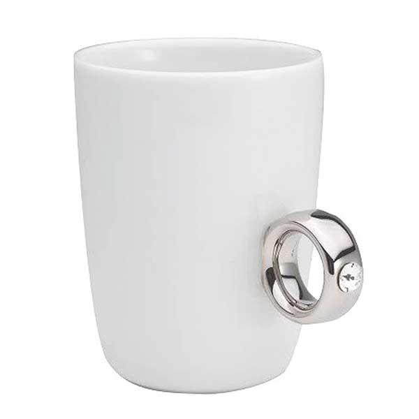Floyd フロイド Cup Ring カップリング White / Silver ホワイト /シルバー  FL01-00401  citron-g