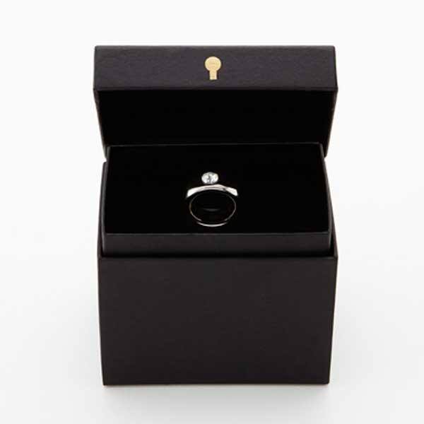 Floyd フロイド Cup Ring カップリング White / Silver ホワイト /シルバー  FL01-00401  citron-g 04