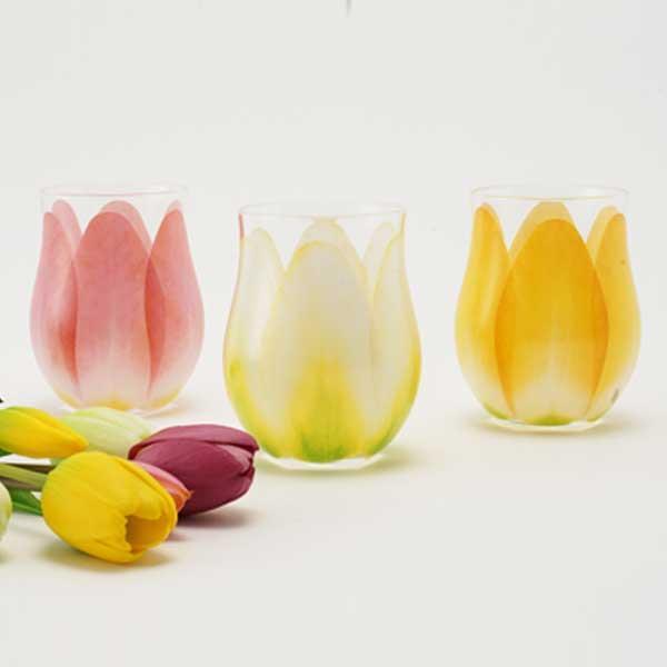 Floyd フロイド TULIP GLASS チューリップ グラス 1pc Yellow  FL11-00803 |citron-g|04
