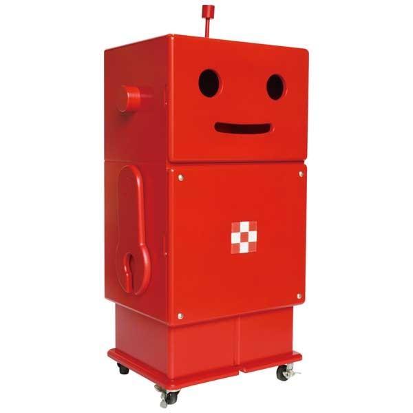 エテ エテ ete 収納ロボ ROBIT ロビット レッド 【送料無料】 ※お届けまでお日にちがかかる場合がございます。