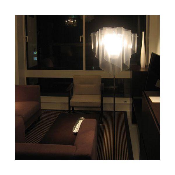 ディクラッセ DI CLASSE フロアランプ Floor Lamp アウロ Auro アイス ice LF4200IC【送料無料】