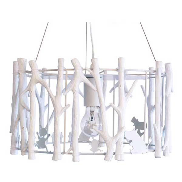 ディクラッセ DI CLASSE ペンダントランプ Pendant Lamp ムーミンのかくれんぼ ホワイト LP3121WH 【送料無料】