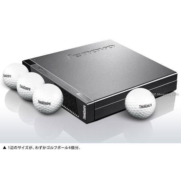 パソコン PC デスクトップ 新品 本体のみ Office付き レノボ ThinkCentre M73 Tiny Windows7Pro 32bit Windows10ProDG 10AX00A0JP (送料無料)|ciz|03