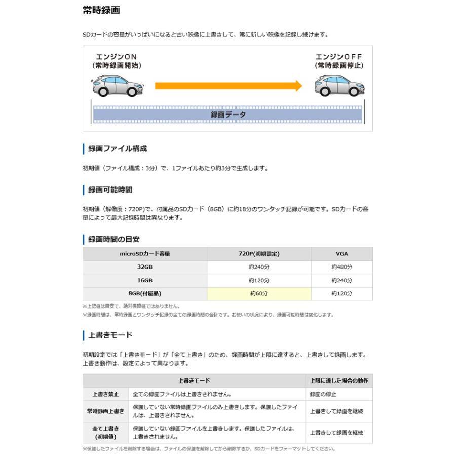 ドライブレコーダー ユピテル 最新 新品 ミニ コンパクト 100万画素 DRY-mini50c (送料無料) ciz 05