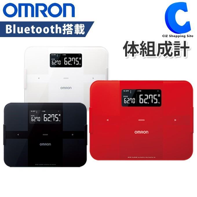 OMRON HBF-255T-R 【送料無料】 [体重体組成計] レッド カラダスキャン