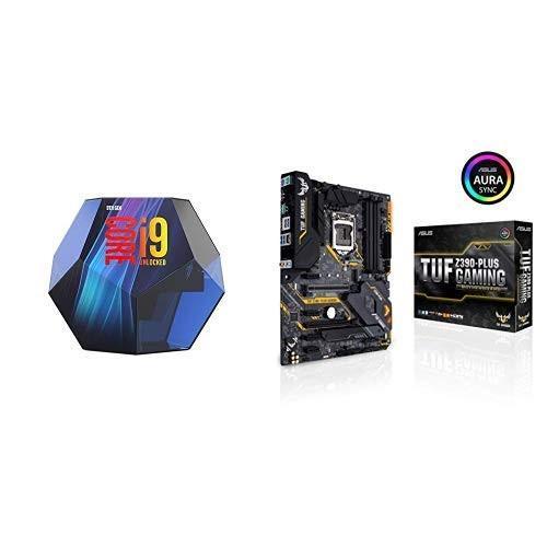 INTEL インテル CPU Corei9-9900K + ASUS IntelR Z390搭載 LGA1151対応マザーボード TUF Z390-P