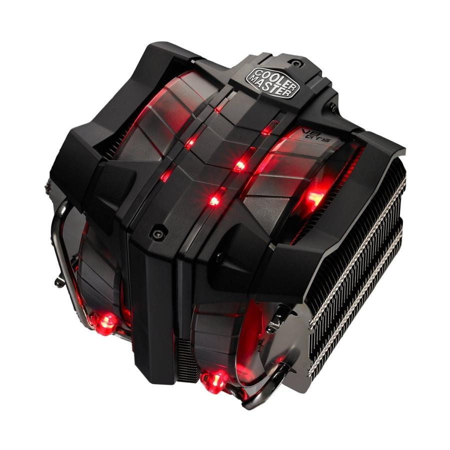 CoolerMaster ベイパーチャンバー&大型140mmデュアルPWMファン採用 サイドフロー型CPUクーラー V8GTS (型番:RR-V8VC