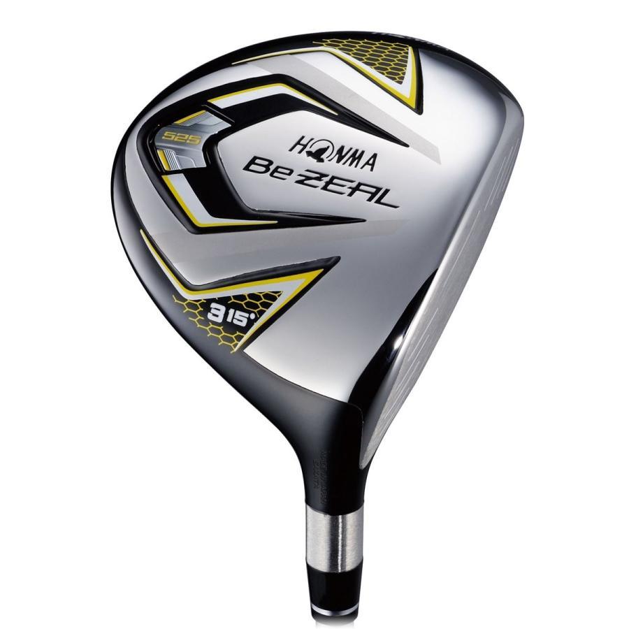 本間ゴルフ フェアウェイウッド Be ZEAL ビジール 525 フェアウェイウッド 3W(15度) VIZARD for Be ZEALシャフト フ