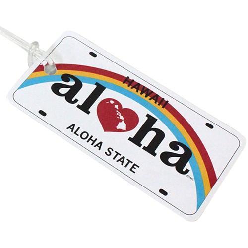 Island Heritage Hawaiian Playing Cards License Plate Aloha