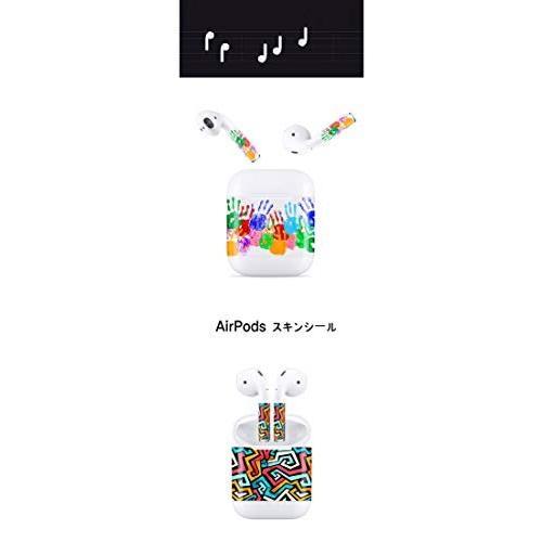 AirPods エアーポッズ 専用 デザイン スキン シール コーヒー 31 clartellc 02
