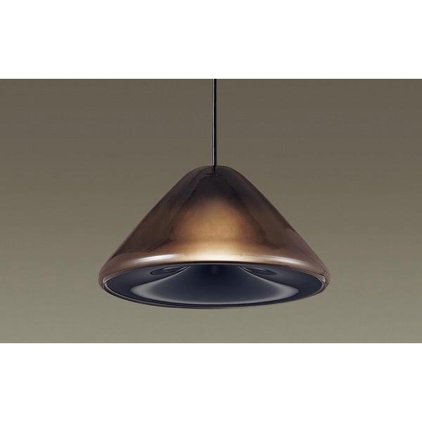 パナソニック ダクトレール用ペンダント ブラック LED 電球色 電球色 調光 LGB16477CB1
