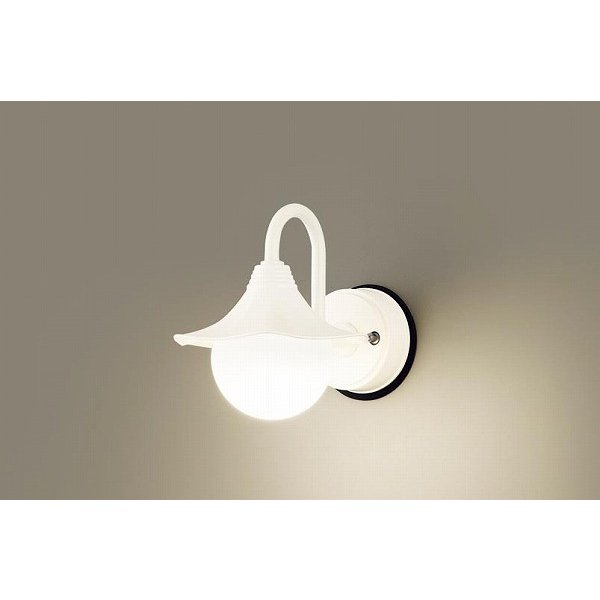 パナソニック ポーチライト ホワイト LED(電球色) LGW85220Z