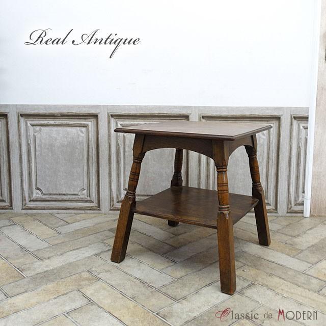 リアルアンティーク サイドテーブル 1920年頃 オーク材 イギリス antique52772