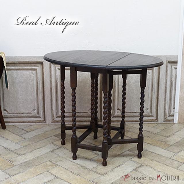 リアルアンティーク サイドテーブル 1920年頃 オーク材 イギリス antique55045