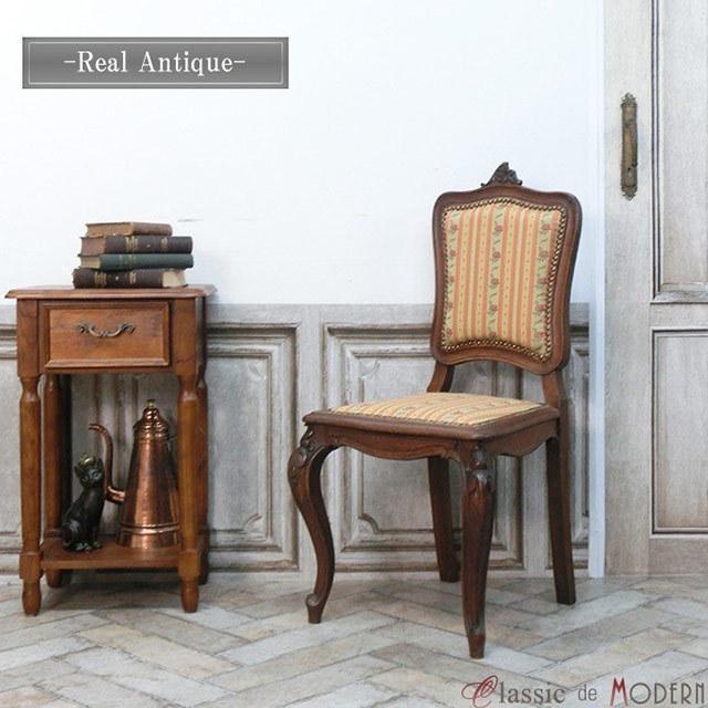 リアルアンティーク シングルチェア パーソナルチェア 1P 1シーター フランス 1910年代 オーク antique60006A