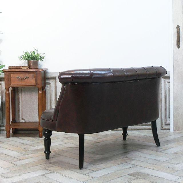 ダブルソファ ラムズゲイト 長椅子 アンティーク かわいい  ボタンダウン エレガント クラシック ローソファ レトロ シャビー AJ2P38K|classic-de-modern|07
