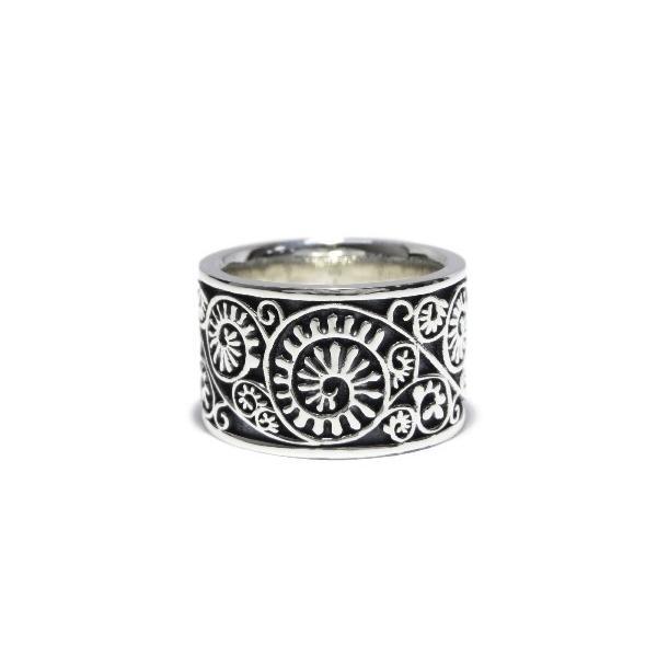 高品質の人気 GARNI ガルニ 黒 Vine Pattern Ring リング 13号 Pattern GR13106 未使用 リング 黒 ブラック バイン シルバー 指輪【】30005163, 因島市:3f130548 --- airmodconsu.dominiotemporario.com