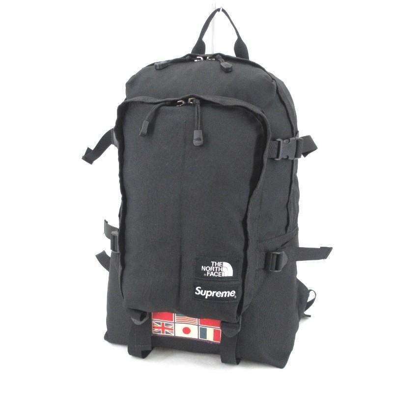 好きに SUPREME × THE NORTH Expedition FACE FACE Day シュプリーム ノースフェイス バックパック 14SS Expedition Medium Day Pack Backpack 黒 バッグ 90000718, 中古オフィス家具のトレタテ:a709b35a --- fresh-beauty.com.au