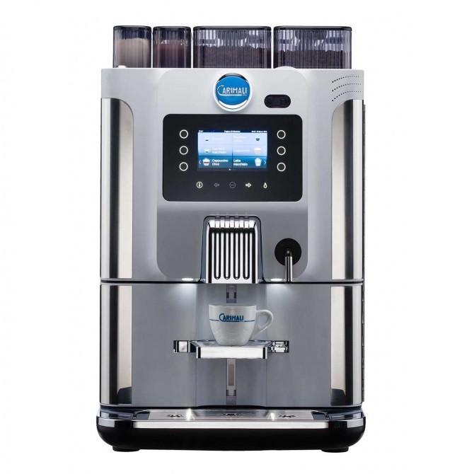 送料無料 CARIMALI カリマリ 全自動コーヒーマシン 青 Dot F22 ( 2グラインダー + 2 パウダー 仕様 )