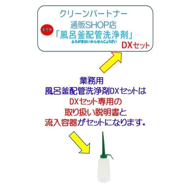 業務用 風呂釜配管洗浄剤 DXセット【2個セット】|cleanbuyshop|02