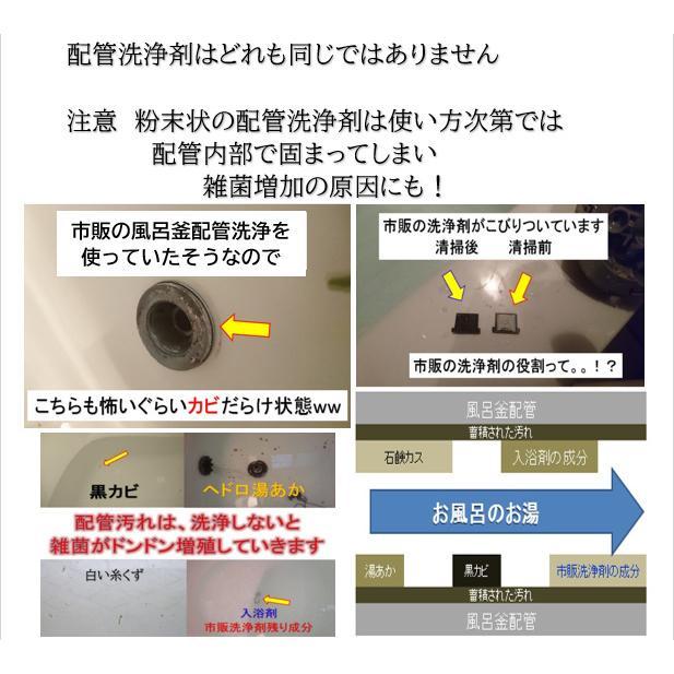 業務用 風呂釜配管洗浄剤 DXセット【2個セット】|cleanbuyshop|04