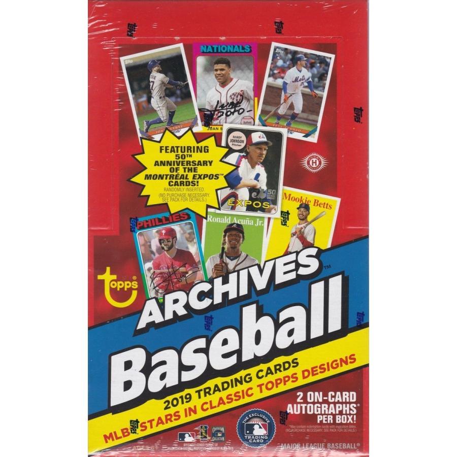 【お取り寄せ】 MLB 2019 TOPPS ARCHIVES BASEBALL HOBBY 1BOX(24パック入り)