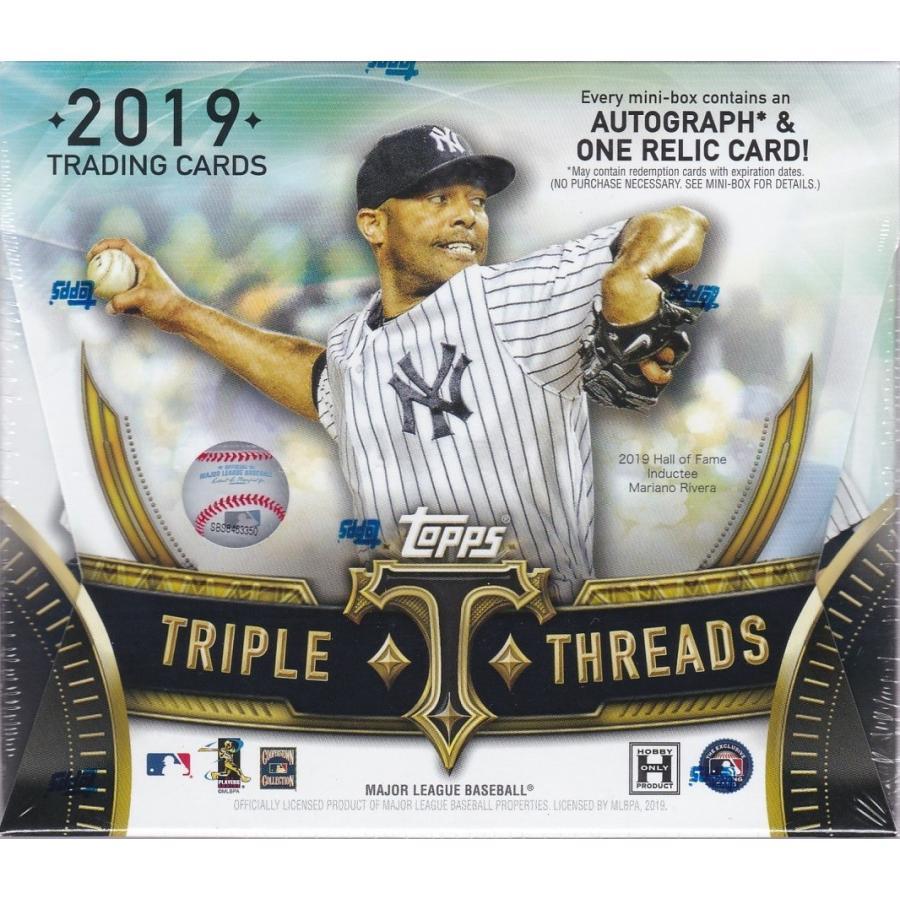 【予約】 MLB 2019 TOPPS TRIPLE THREADS BASEBALL 1BOX 【10月23日発売予定】