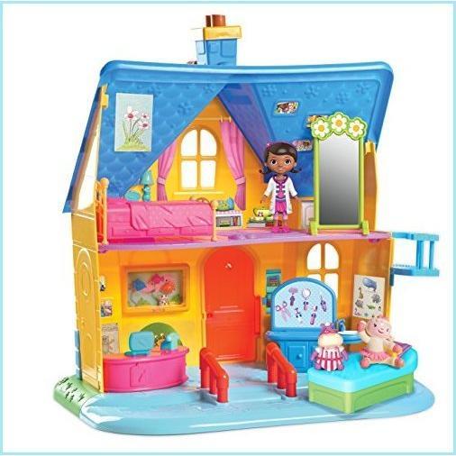 新品Doc McStuffins Clinic Doll House with Doll