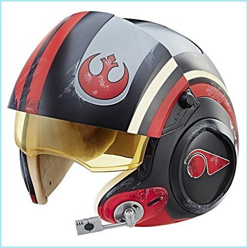 新品Star Wars The Black Series Poe Dameron Electronic X-Wing Pilot Helmet