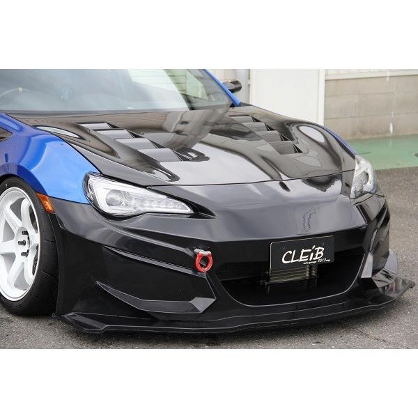 CLEIB サーキットスペック フロントバンパー リップ部+サイドグリル部 カーボン|cleib|10