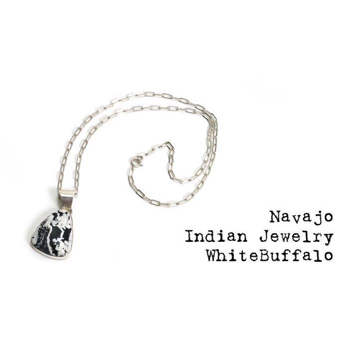 選ぶなら ナバホ族 インディアンジュエリー NAVAJO/ネックレス Buffalo ホワイトバッファロー NAVAJO Necklace White Necklace Buffalo, セレクトショップCaRat:9de8e96d --- airmodconsu.dominiotemporario.com