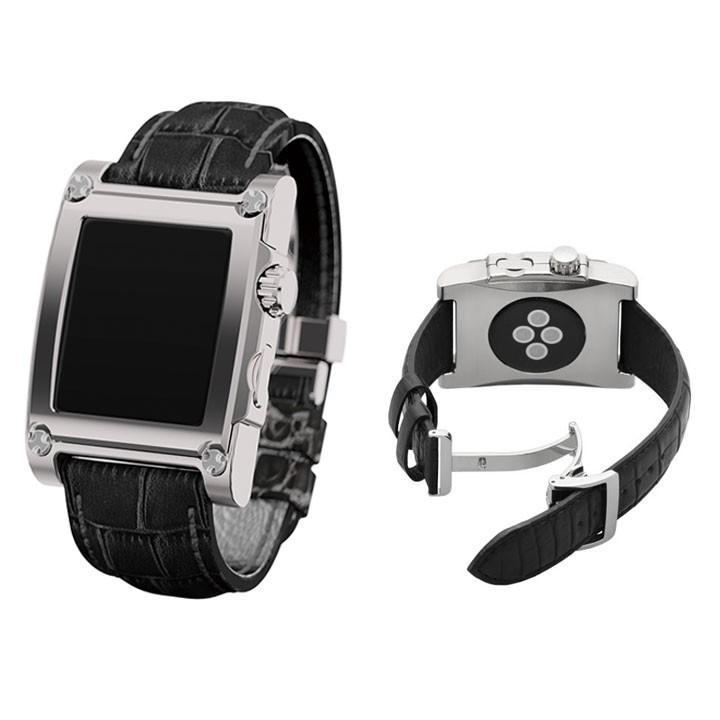 アップル ウォッチ ケースバンド 42mm Apple Watch スマートウォッチ バンド 宅配便送料無料|clicktrust|02