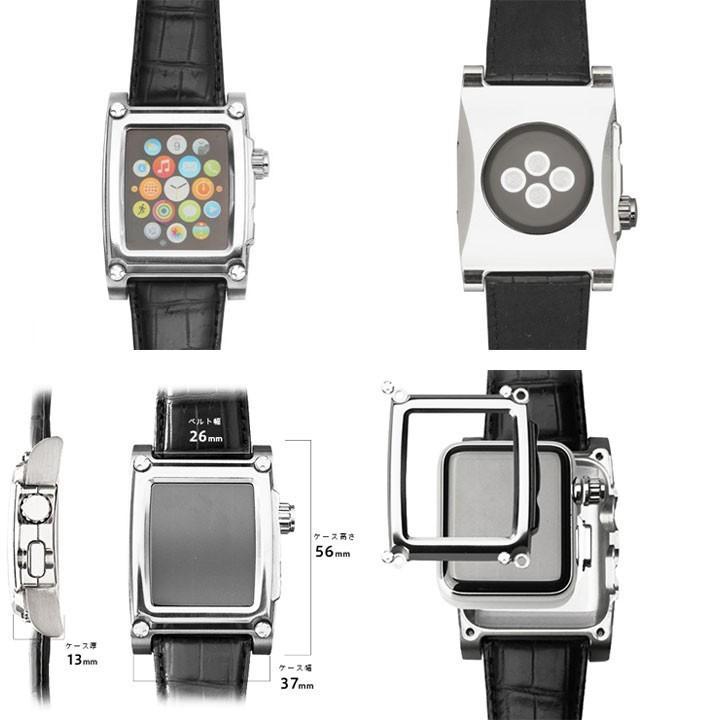 アップル ウォッチ ケースバンド 42mm Apple Watch スマートウォッチ バンド 宅配便送料無料|clicktrust|03