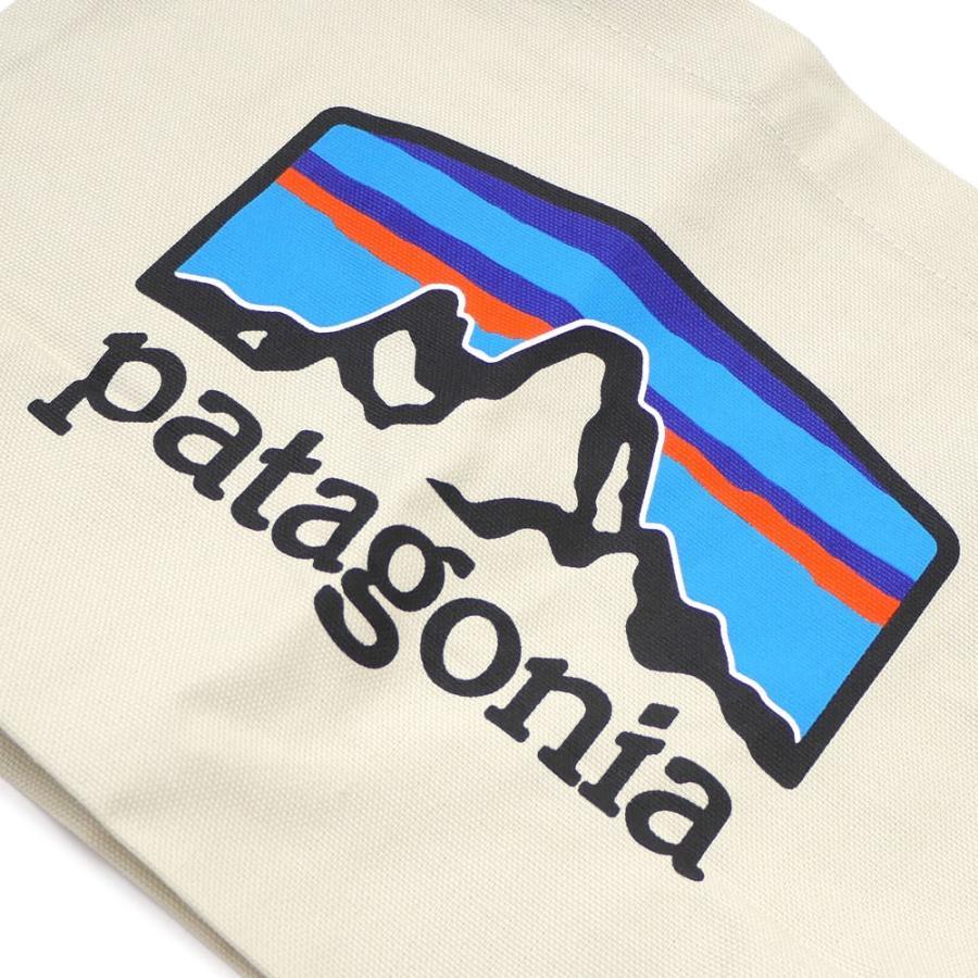 新品 パタゴニア Patagonia P-6 Logo Mini Tote トートバッグ エコバッグ Pastel P-6 Logo Bleached Stone ベージュ FRHB 59275 277002706016 グッズ|cliffedge|03