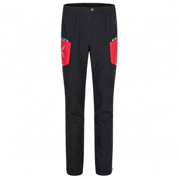 モンチュラ Ski Style パンツ(Nero / Rosso)