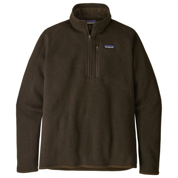 パタゴニア Better Sweater 1/4 Zip  メンズ( Logwood Brown )