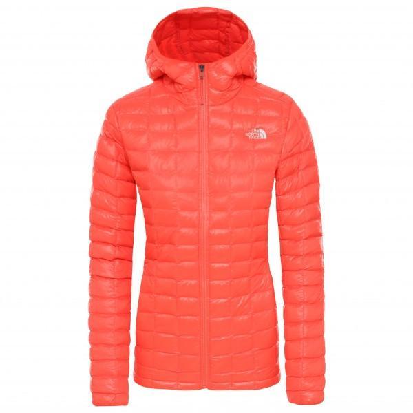ザ・ノース・フェイス Eco Thermoball フーディ ジャケット レディース(Radiant Orange)