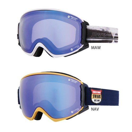 SWANS スワンズ スキー ゴーグル [ROV]O-MDH-SC-MIT-PAF 16-17モデル スノーボード