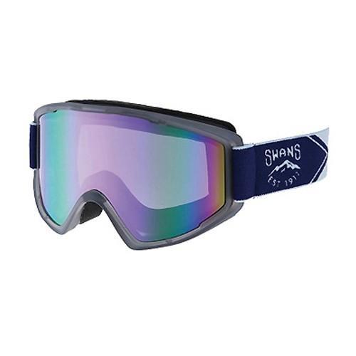 SWANS スワンズ スキー ゴーグル 100-MDH CSK クリアスモーク 17-18モデル メガネ めがね 対応 スノーボード