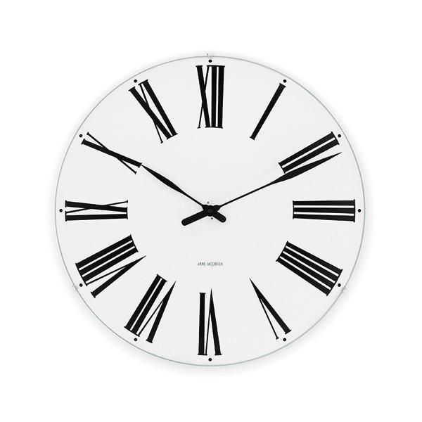 アルネ・ヤコブセン掛け時計 ARNE JACOBSEN Wall Clock ローマンクロック  480mm 43652