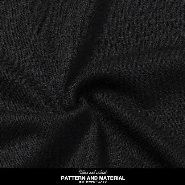 お兄系 メンズTシャツ シャツ/Aegnoir(イグノア) ワイドUネック無地ロンT/長袖Tシャツ メンズ 無地 カットソー clothes-unit 04