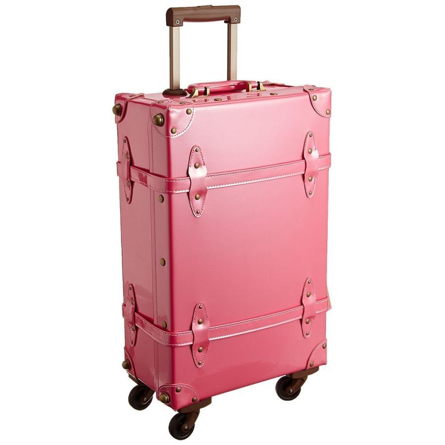 キャリーケース スーツケース アクタス カラーズ actus color's エナメルトランクキャリー 31775 30 パールピンク