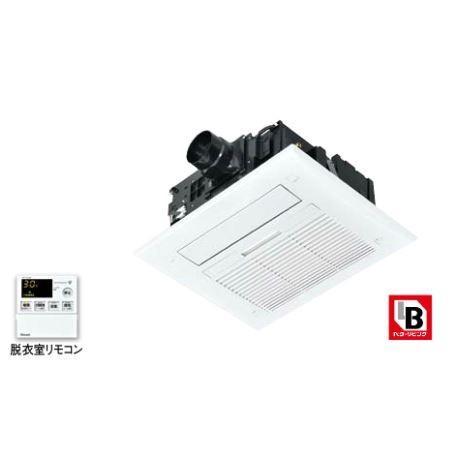 リンナイ 浴室暖房乾燥機【RBH-C418K1P】天井埋込型 開口標準タイプ 1室換気対応 脱衣室リモコン付