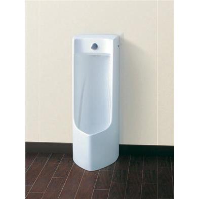 ###πTOTO プッシュボタン小便器【UFJ300CVR】本体のみ 床置式(中形·塩ビ排水管用)