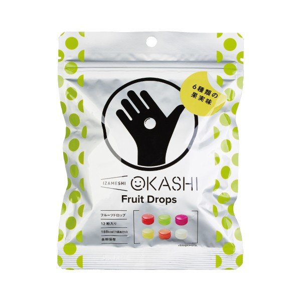 IZAMESHI(イザメシ) OKASHI フルーツドロップ(長期保存/5年保存/お菓子) 非常食 保存食 備蓄食 clubestashop 06