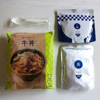 IZAMESHI(イザメシ) DON(丼) 出汁のきいた牛丼(長期保存食/3年保存/DON(丼)) 非常食 保存食 備蓄食|clubestashop|04