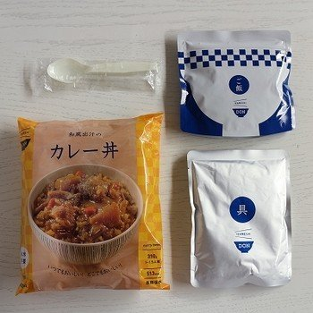 IZAMESHI(イザメシ) DON(丼) 和風出汁のカレー丼 (長期保存食/3年保存/DON(丼)) 非常食 保存食 備蓄食|clubestashop|04