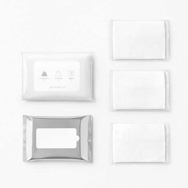 杉田エース ACE minimLET ミニムレット 簡易トイレ用付属品セット (凝固剤、排便袋、持ち運び袋、ポケットティッシュ、ウエットティッシュ)|clubestashop|03