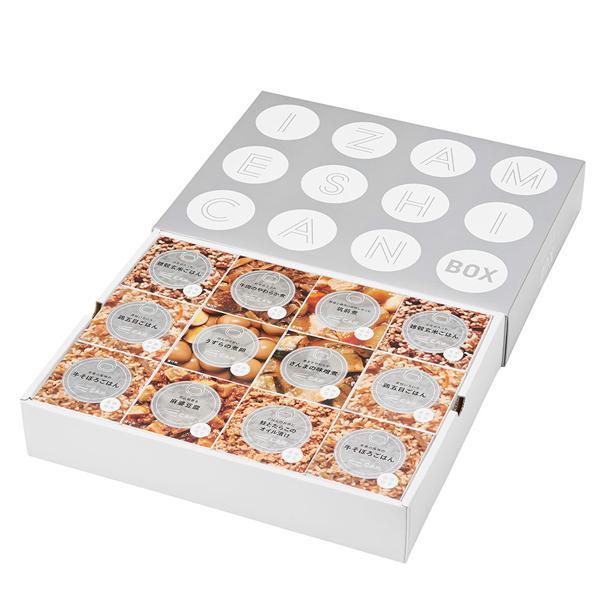 IZAMESHI(イザメシ) ギフトセット 缶詰 CAN BOX カンボックス 12缶セット (長期保存食/3年保存/缶) clubestashop 05